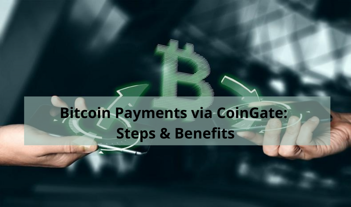 Bitcoin Payments via CoinGate